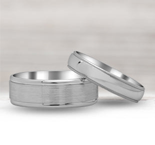 Men's Palladium Wedding Rings