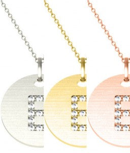 White, Yellow, or Rose Gold to Personalize Your Bridesmaid Gift