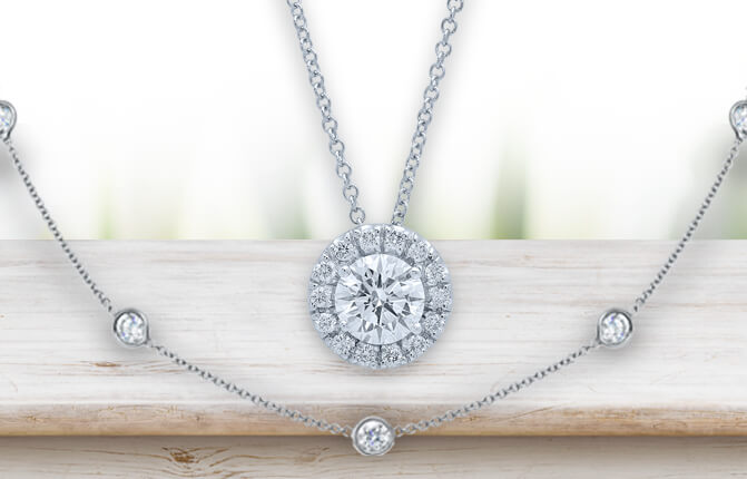 Moissanite Necklaces