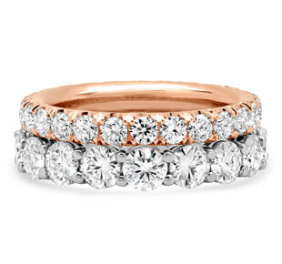 Moissanite Women's Wedding Bands