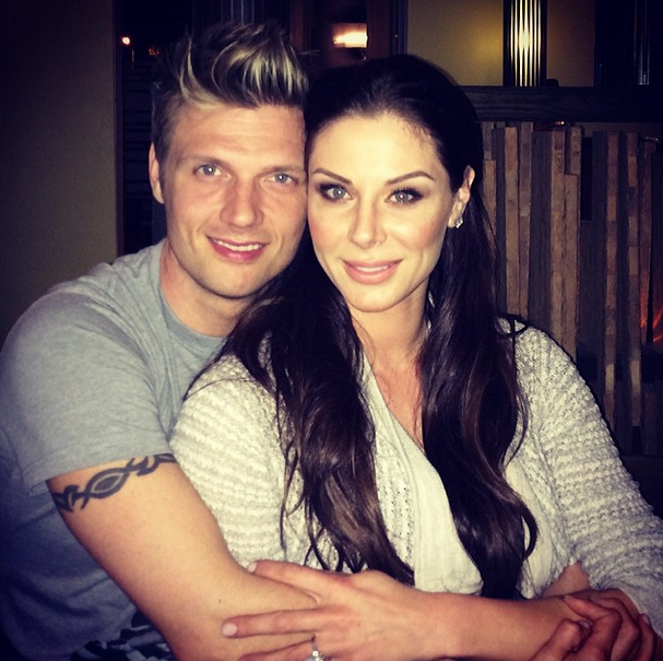 nick carter lauren kitt wedding