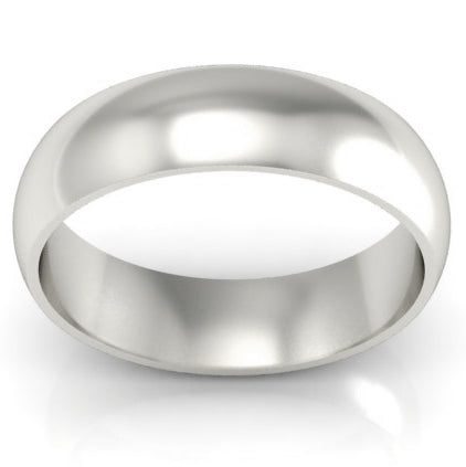plain platinum wedding band