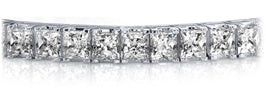 diamond tennis bracelets princess cut diamonds platinum