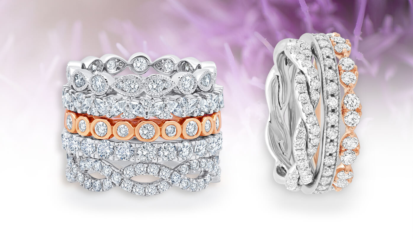 Unique Wedding Bands For Women Eternity Bands For Her