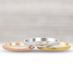 Plain Women's Wedding Bands