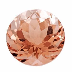 1.72 ct Round Morganite Loose Gemstones deBebians