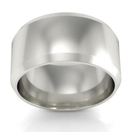 8mm Knife Edge Wedding Ring in 14kt Gold