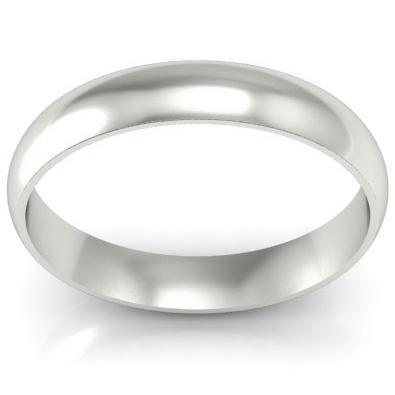 Gold Wedding Ring 4mm