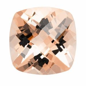 2.48 ct Cushion Morganite Loose Gemstones deBebians