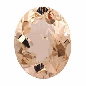 5.29 ct Oval Morganite Loose Gemstones deBebians