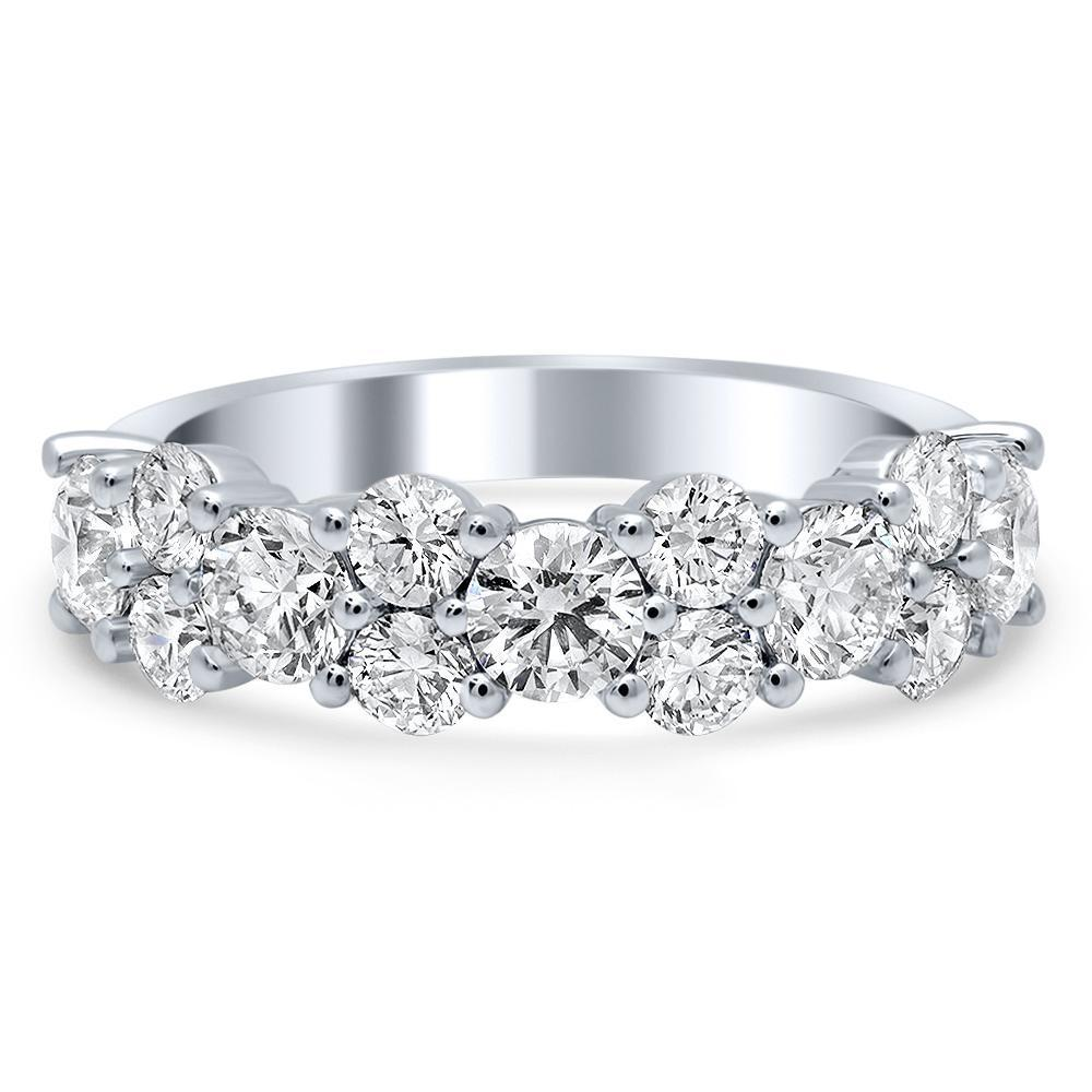 Garland Design Moissanite Wedding Ring Diamond Wedding Rings deBebians