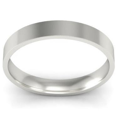3mm Platinum Wedding Ring Flat Platinum Wedding Rings deBebians