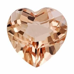 5.00 ct Heart Morganite Loose Gemstones deBebians
