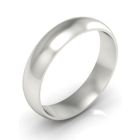 Classic Wedding Band in 18k 5mm