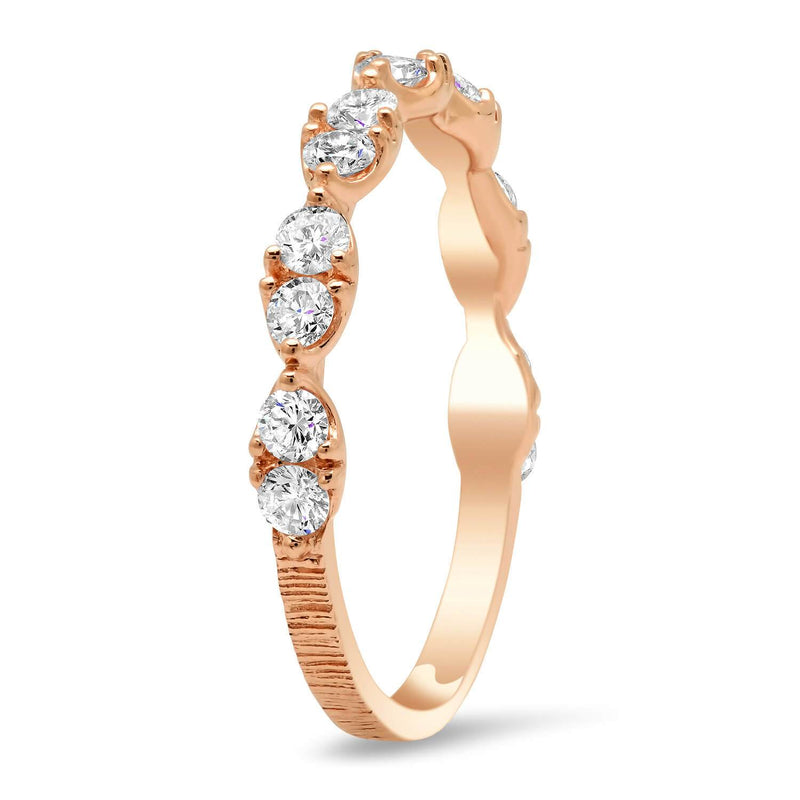 Double Round Oval Design Diamond Wedding Ring Diamond Wedding Rings deBebians