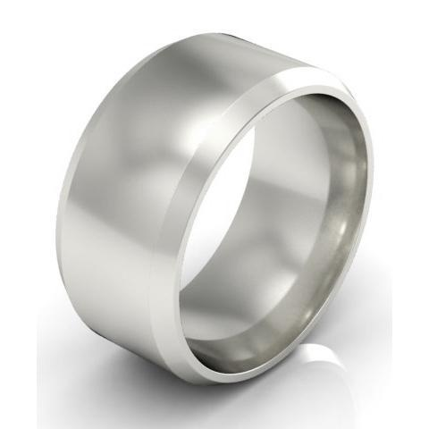 Plain Wedding Ring in 18k 9mm Plain Wedding Rings deBebians