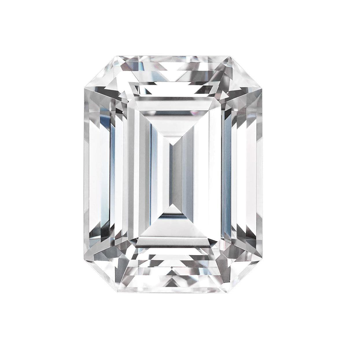 Charles and Colvard Emerald Cut Forever One Moissanite Loose Moissanite Charles & Colvard