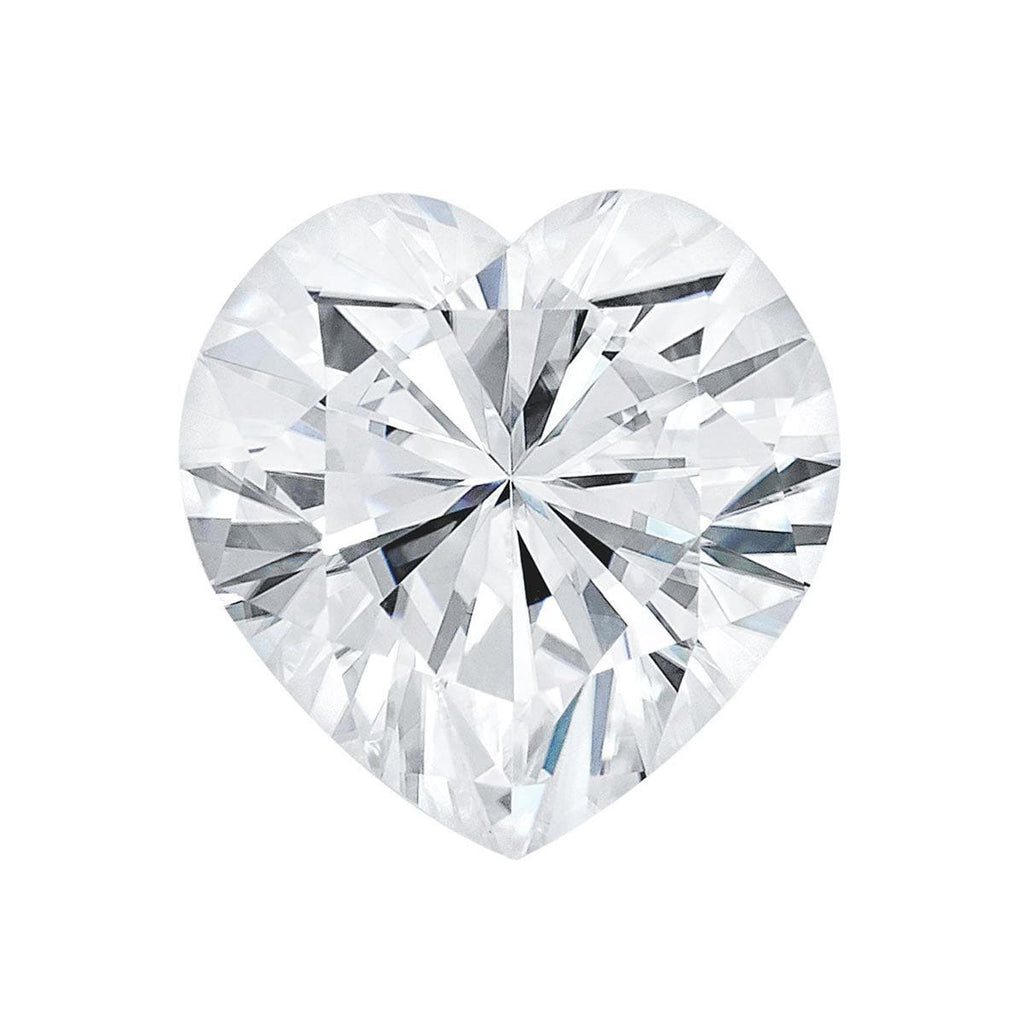 Charles and Colvard Heart Shaped Forever One Moissanite Loose Moissanite Charles & Colvard