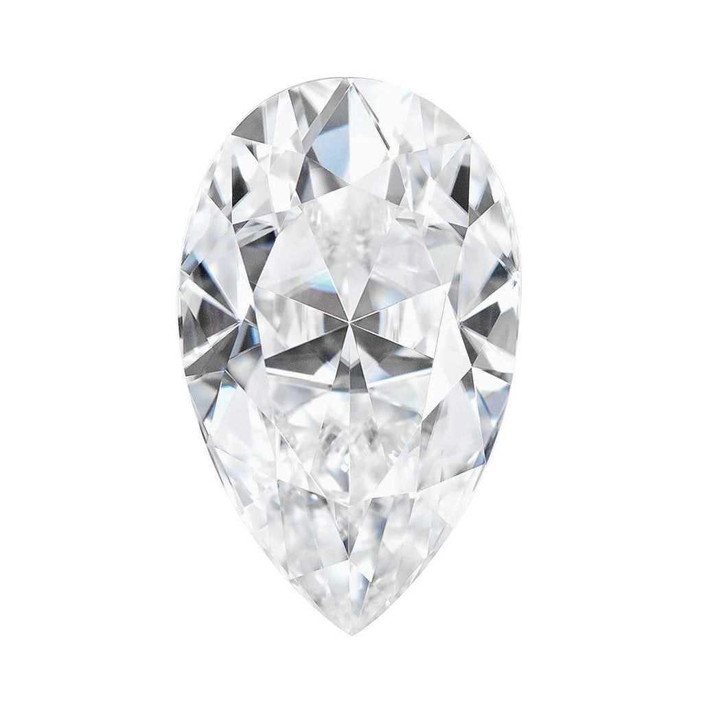 Charles and Colvard Pear Shape Forever One Moissanite Loose Moissanite Charles & Colvard