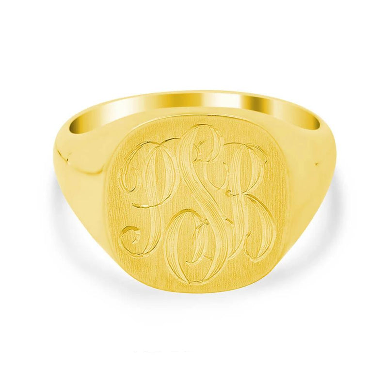 Square Face Signet Ring - 15mm x 19mm