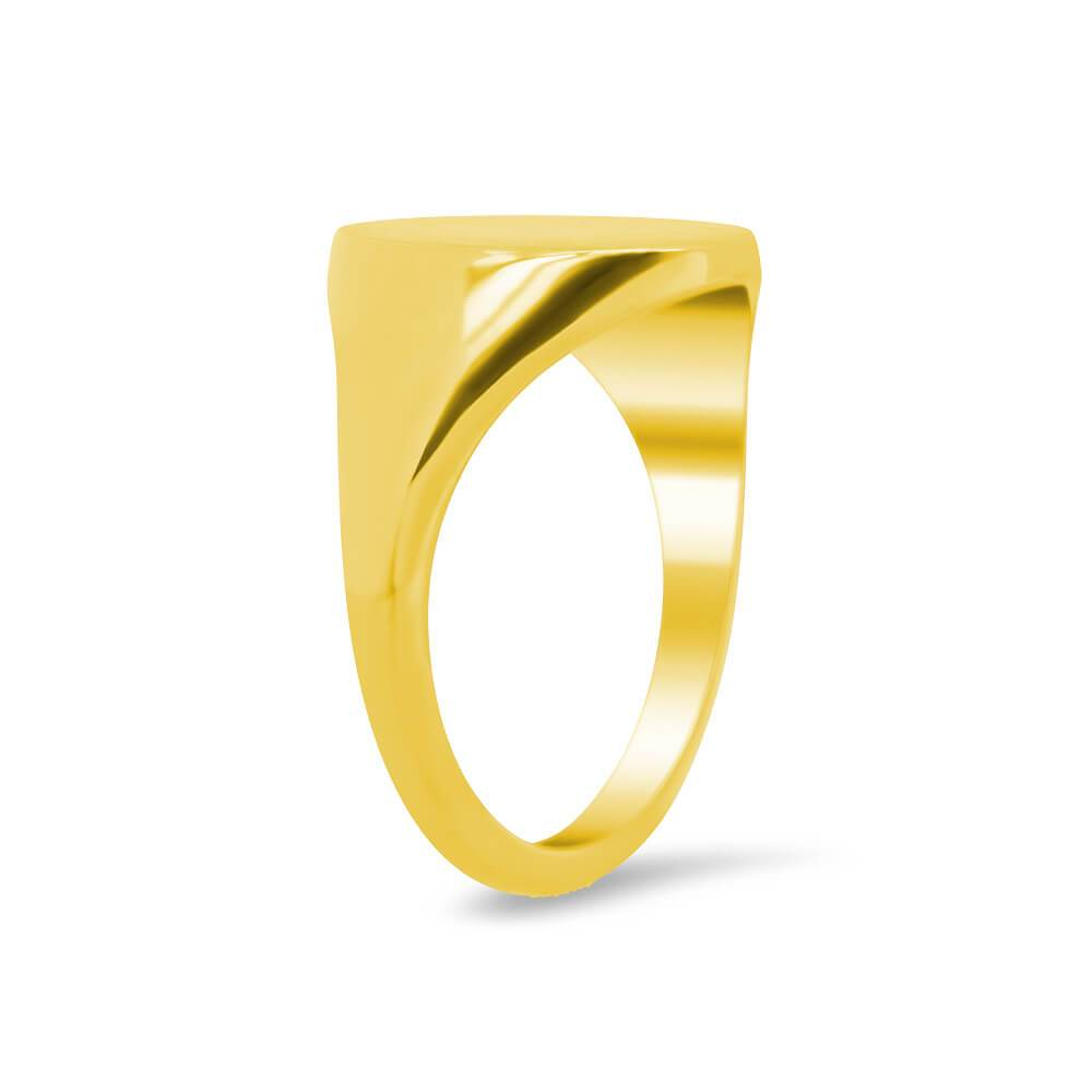 Women's Oval Signet Ring - Medium Signet Rings deBebians
