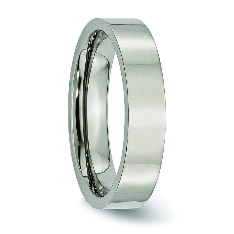 5mm Ladies Titanium Ring