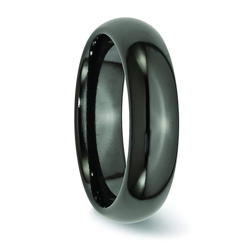Black Titanium Wedding Band Titanium Wedding Rings deBebians
