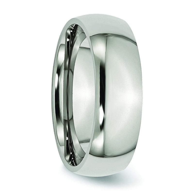 7mm Titanium Ring Titanium Wedding Rings deBebians