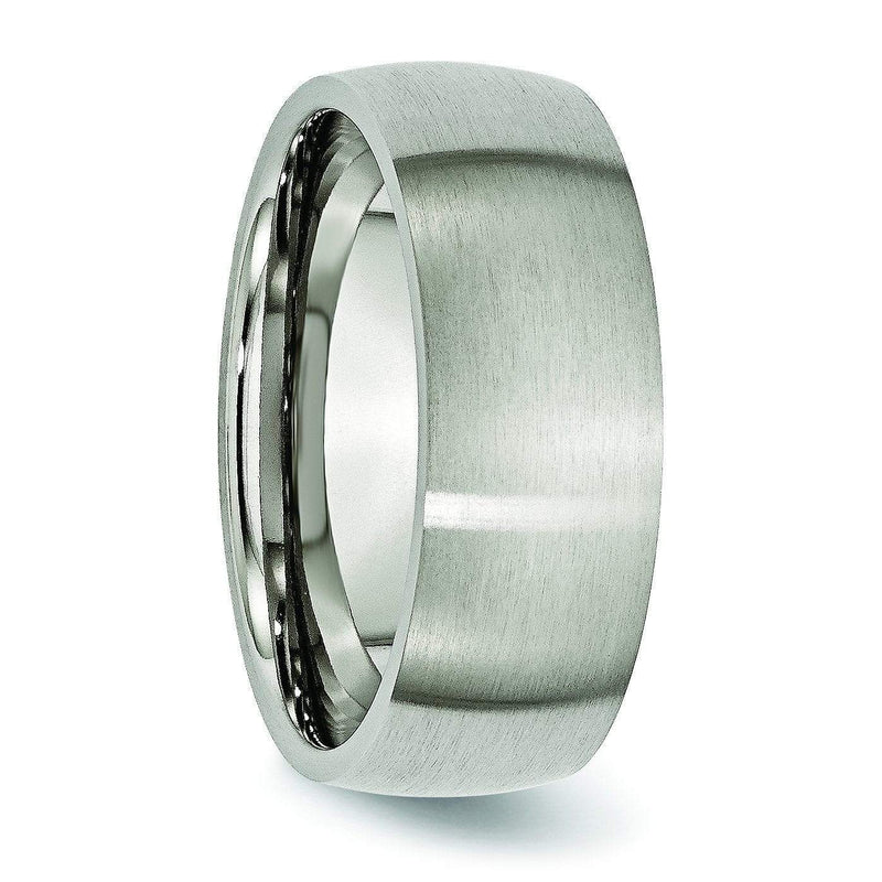8mm Titanium Wedding Band Titanium Wedding Rings deBebians