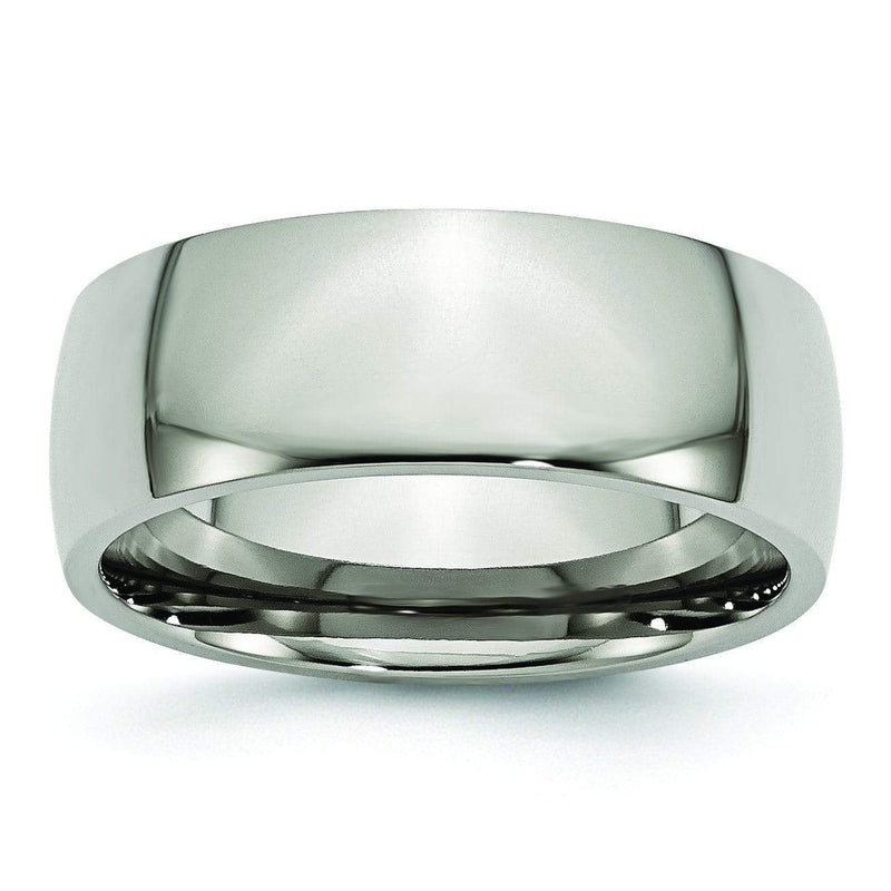 8mm Titanium Ring Titanium Wedding Rings deBebians