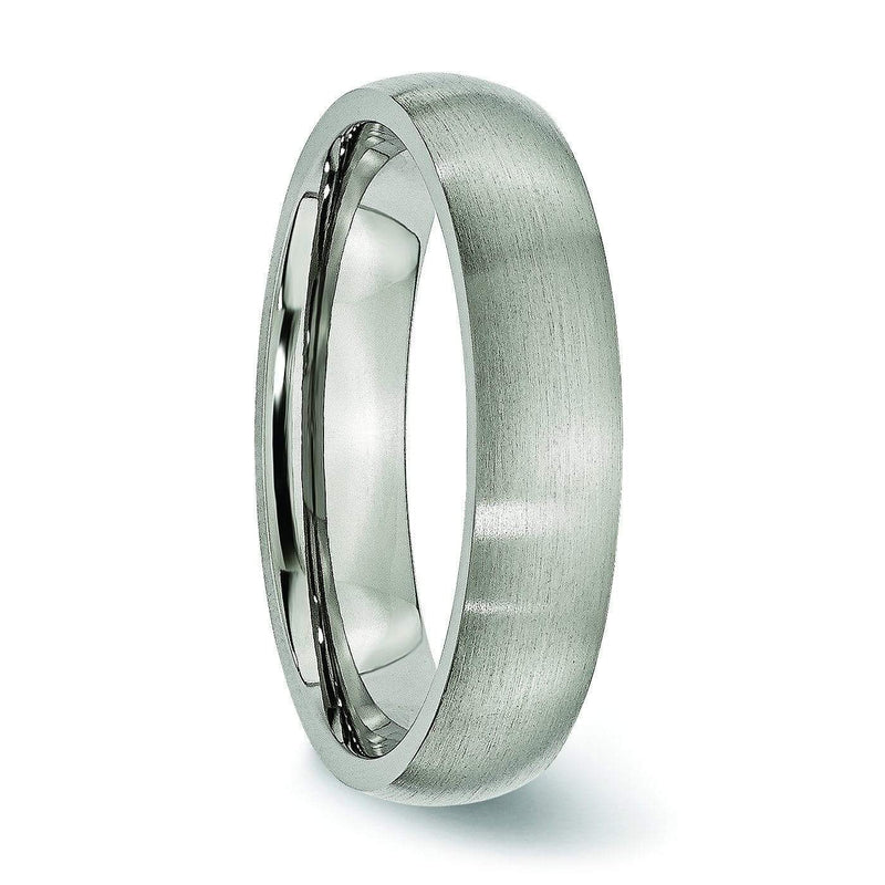 Comfort Fit Titanium Wedding Band Titanium Wedding Rings deBebians