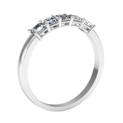 Asscher Five Stone Band