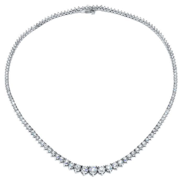 Diamond Riviera Necklace Diamond Necklaces deBebians
