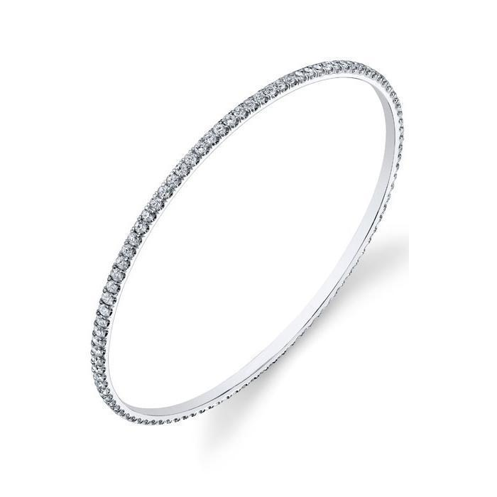 Stackable Diamond Bangle Bracelet Gift Ideas Over $1500 deBebians
