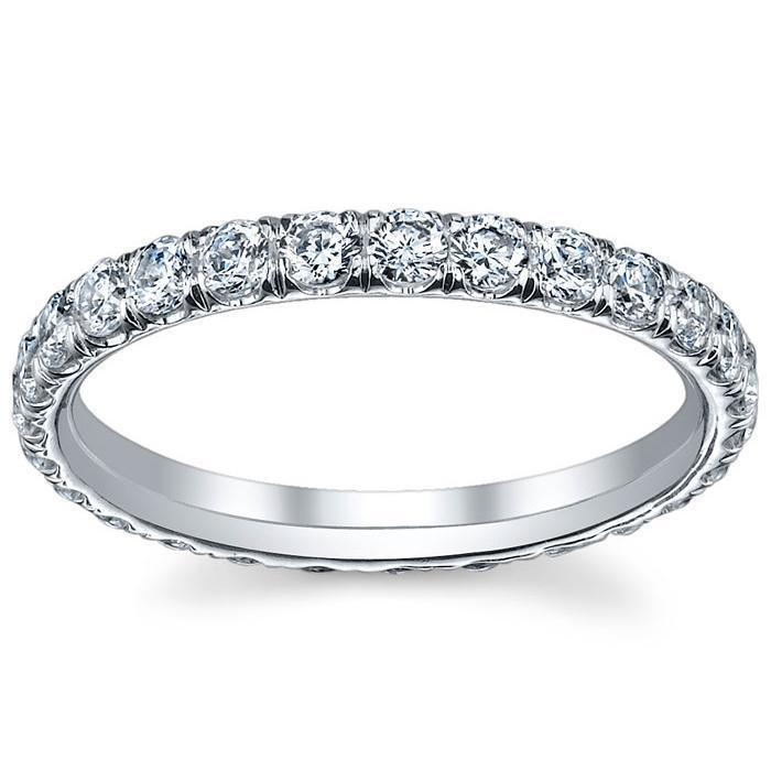 5.00cttw Princess Shared Prong Diamond Eternity Band