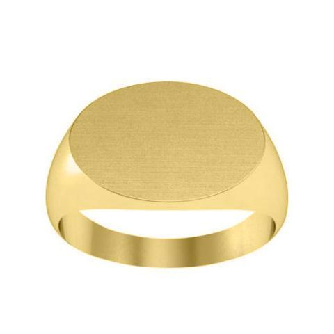 Oval Solid Back Signet Rings For Women Signet Rings deBebians