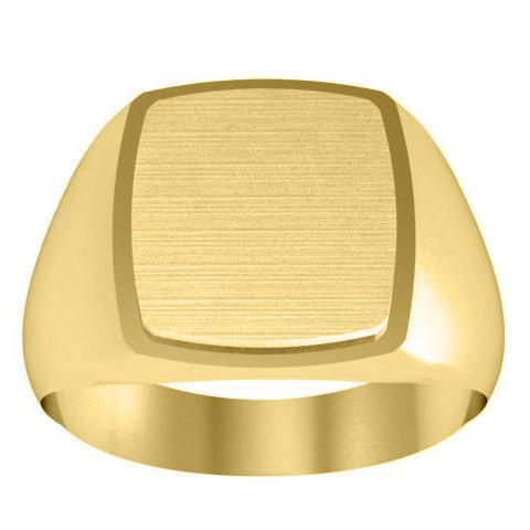 Framed Signet Ring