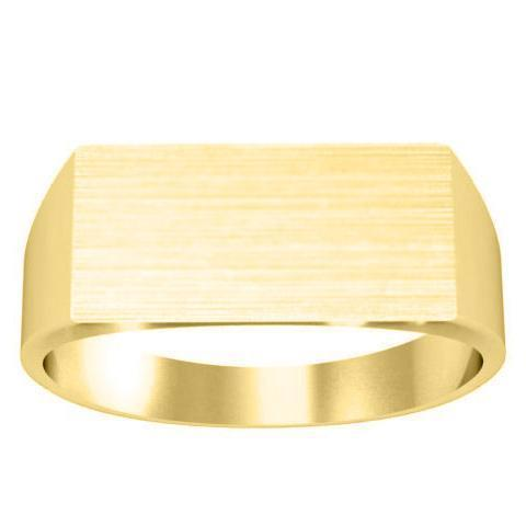 Rectangular Signet Ring