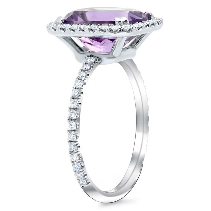 Gemstone and Diamond Cocktail Ring Gift Ideas Over $1500 deBebians