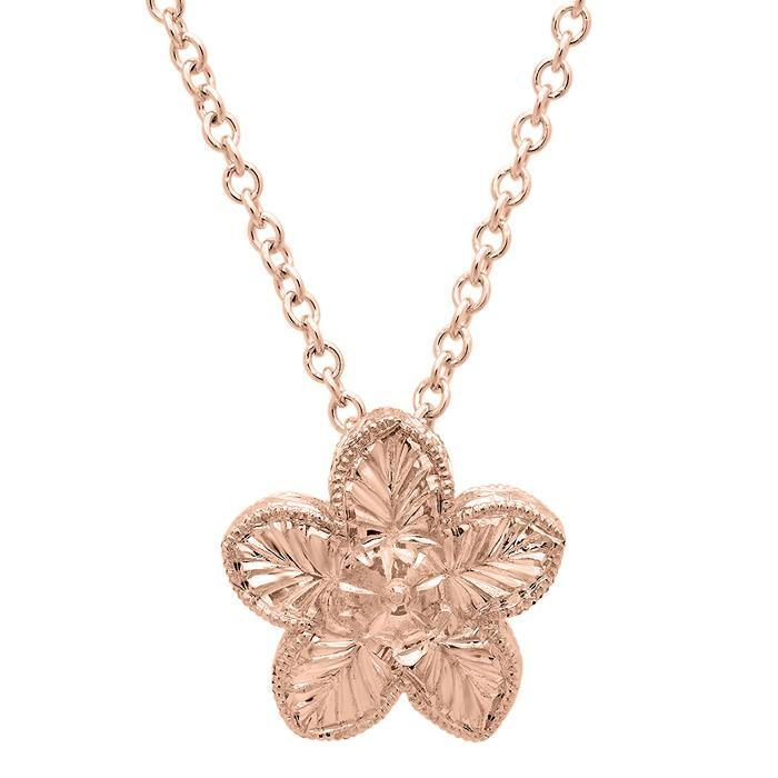 Gold Flower Pendant Gift Ideas Under $500 deBebians