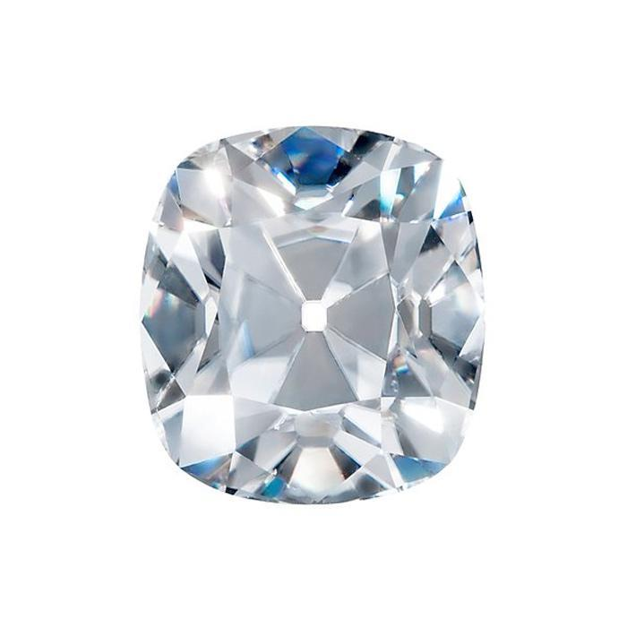 Harro Gem Custom Antique Elongated Cushion Moissanite