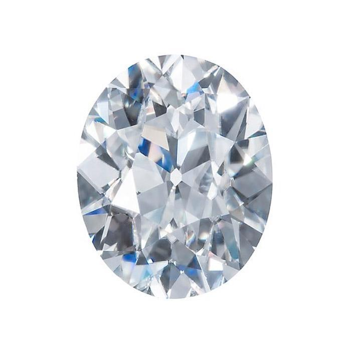 Harro Gem Custom Antique Oval Moissanite