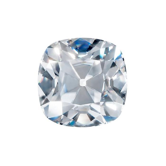 Harro Gem Custom Antique Square Cushion Moissanite