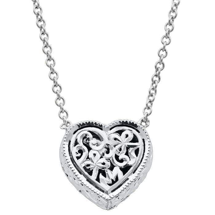 Heart Diamond Halo Pendant Necklace Diamond Necklaces deBebians