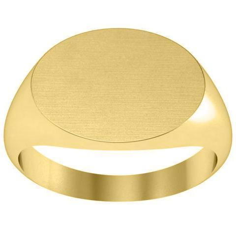 Mens Signet Ring in 14kt Gold Signet Rings deBebians