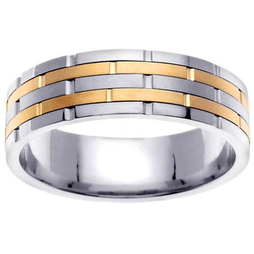 4mm Platinum Wedding Band Knife Edge