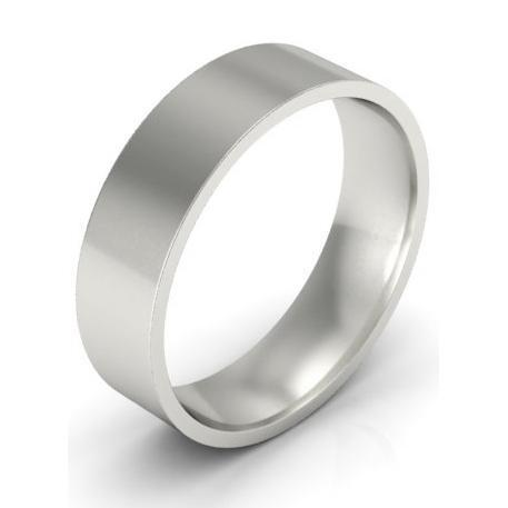5mm Platinum Ring for Women