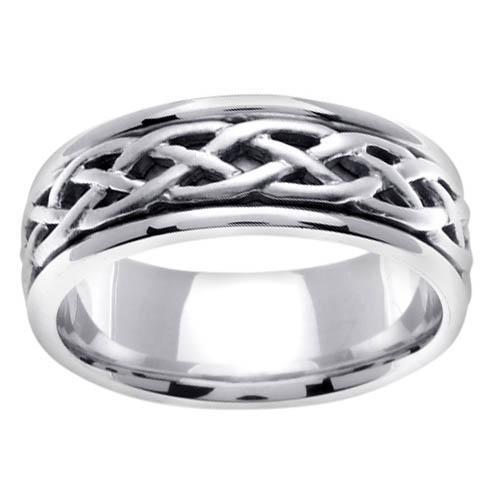 8mm Celtic Ring for Men