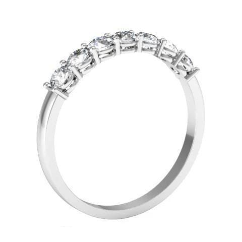 Seven Stone Round Diamond Ring (0.55 cttw)
