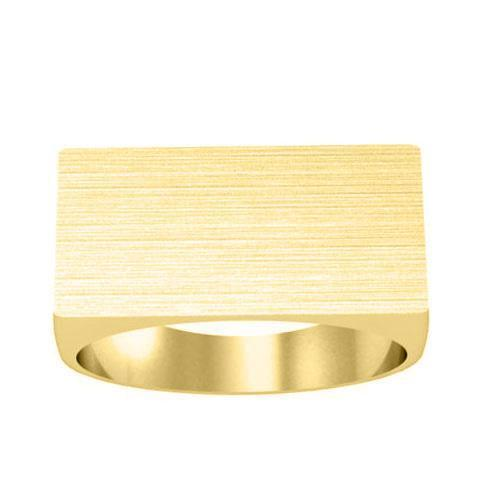 Wide Mens Signet Ring Signet Rings deBebians